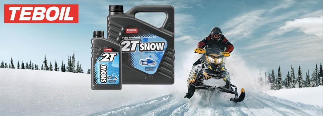 Специальное масло для снегоходов Teboil 2T Snow