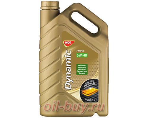 Масло моторное MOL Dynamic Prima 5W-40