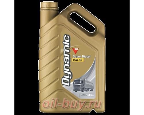 Масло моторное MOL Dynamic Super Diesel 15W-40