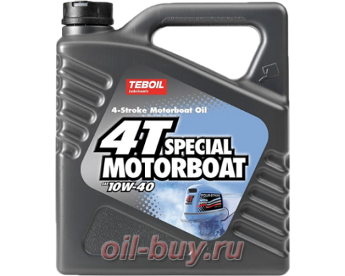 Масло моторное Teboil 4T Special Motorboat 10W-40