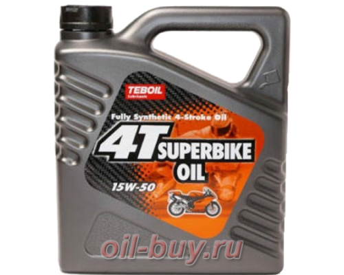 Масло моторное Teboil 4T Superbike Oil 15W-50