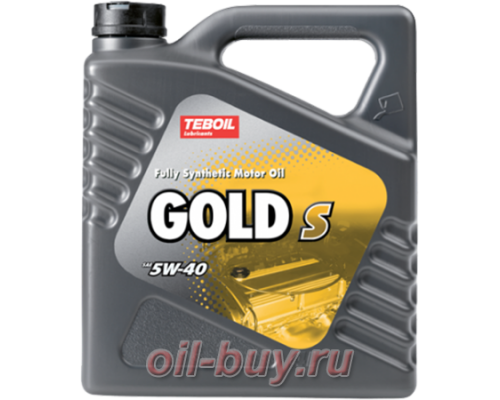 Масло моторное Teboil Gold S 5W-40