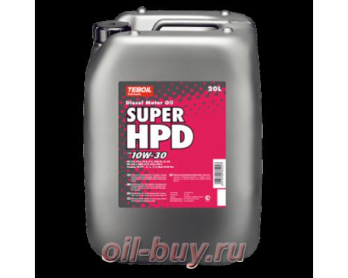 Масло моторное Teboil Super HPD 10W-30